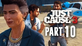 Just Cause 3 Walkthrough Part 10 - DERAILED (JC3 PC Gameplay 1080p 60fps)