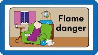The Byrnes Family - Flame danger