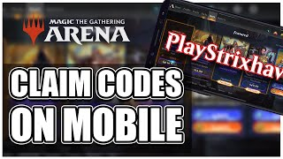 How To Claim MTG Arena Codes On Mobile   MTG Arena Tutorial And Guide