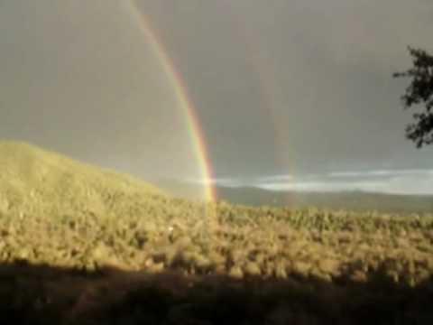 OMG, a double rainbow!