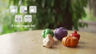 PlanToys | 5-Color Veggie Set