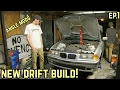 NEW BUILD GETS ANGLE! : Mikey's BMW E36 323i Drift Build Ep.1