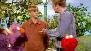 Nick and Aaron Carter on Sesame Street