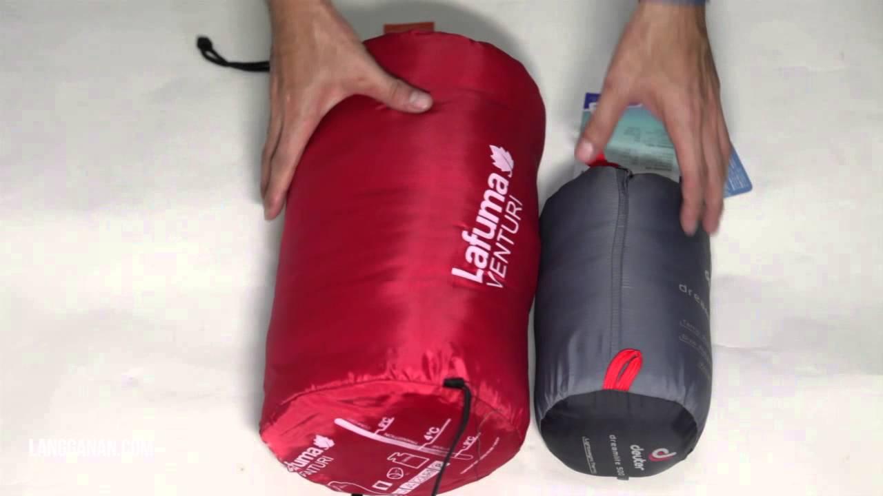 Perbandingan Sleeping Bag Lafuma Ventury Dan Deuter Dreamlite 500