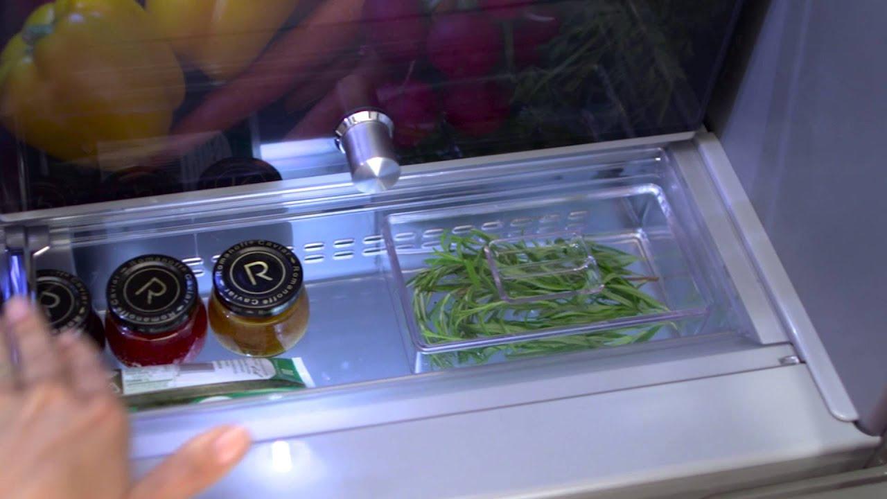 5 Door Refrigerator With Herb Storage Kitchenaid