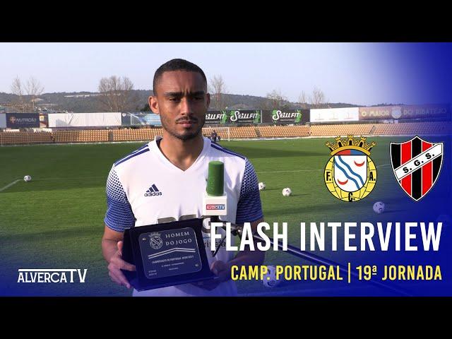 FC Alverca 3 - 0 SG Sacavenense - Flash Interview