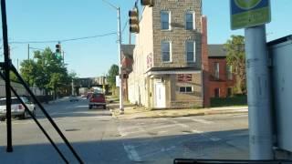 MTA MARYLAND:Route 13 Walbrook Jct Via Fells Point Full Ride Part 1