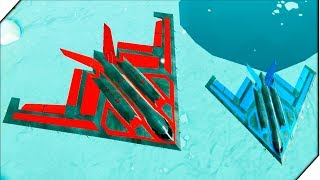 Крутой САМОЛЕТ - Игра Army Battle Simulator Битва солдатиков  Лучшие игры для андроид