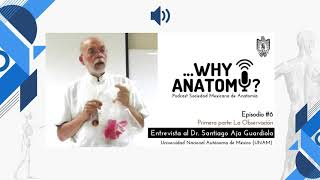 Podcast ...Why Anatomy ? | Episodio #6 | Primera parte | Entrevista al Dr. Santiago Aja Guardiola