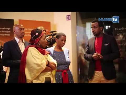 Nkosazana Dlamini-Zuma visits Kigali Genocide Memorial Site (9th July,2016)