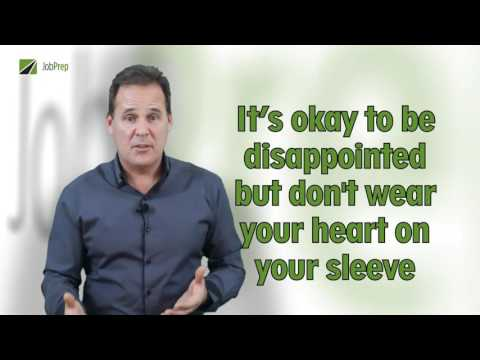 JobPrep The tion  11 How to Respond when a tion is Rejected