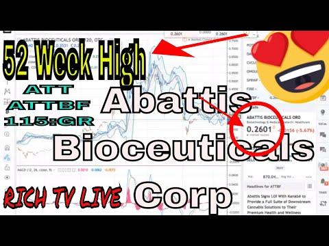 Stocks to buy in 2018 - Abattis Bioceuticals Corp   USA:  ATTBF   Canada: ATT   Germany: 115:GR