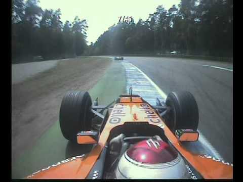 F1 German GP Hockenheim 2001 - Jos Verstappen Chases Enrique Bernoldi