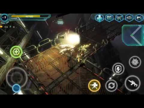 Alien Zone Raid (by Hummingbird Mobile Games) - shooting game for android - gameplay.