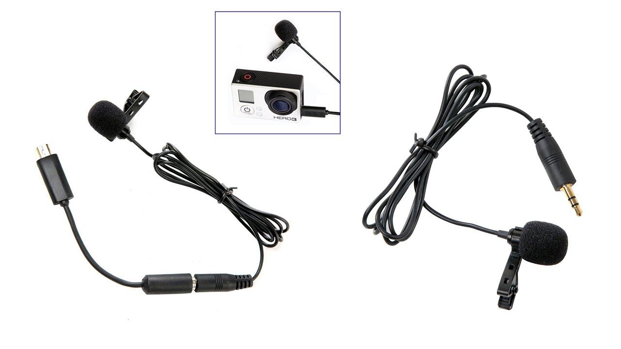 Boya by lm20 per microfono esterno con clip per gopro hero for Esterno s r o