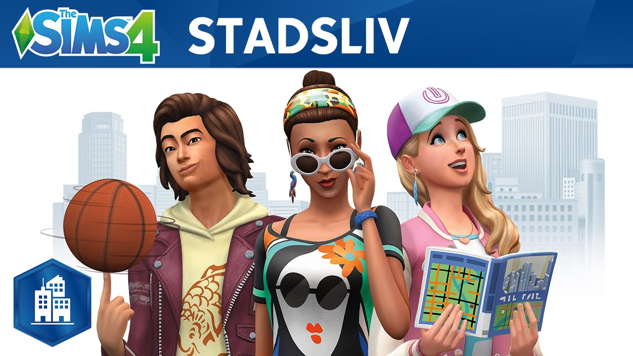 the sims 4 stadsliv officiell trailer youtube. Black Bedroom Furniture Sets. Home Design Ideas