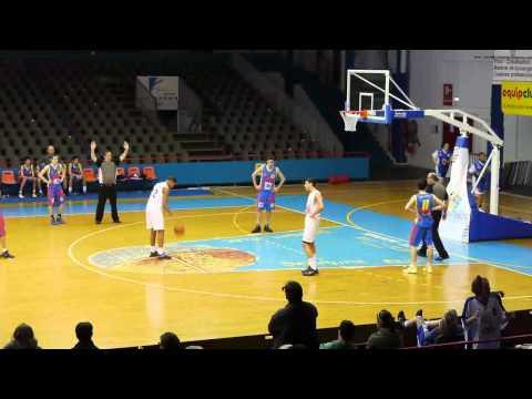 Union Basket Caen Calvados - SPO Rouen Basketball, Minimes France, 05/02/2012, 4ème quart