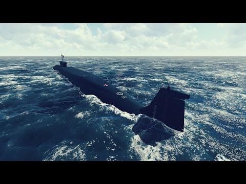 Подводная лодка проекта 955 «Борей» [1080p] / Russian Borei-class submarine