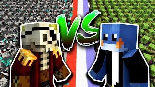 Flothar vs manoyek w minecraft symulator walk