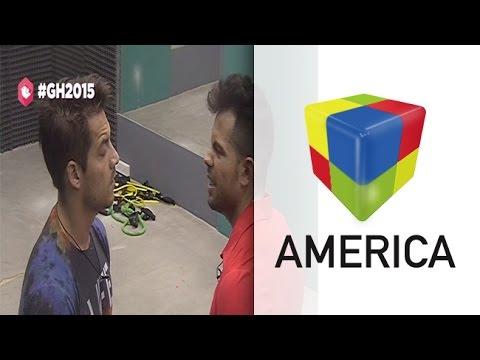 Francisco y Mariano se encerraron en el gimnasio y se desafiaron a pelear