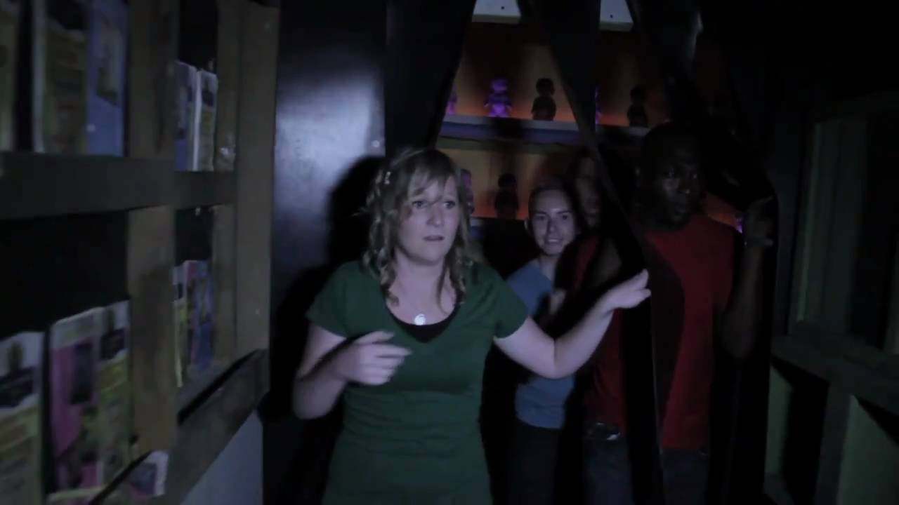 Inside Howl O Scream 2010 Haunted Houses At Busch Gardens Tampa Bay    YouTube