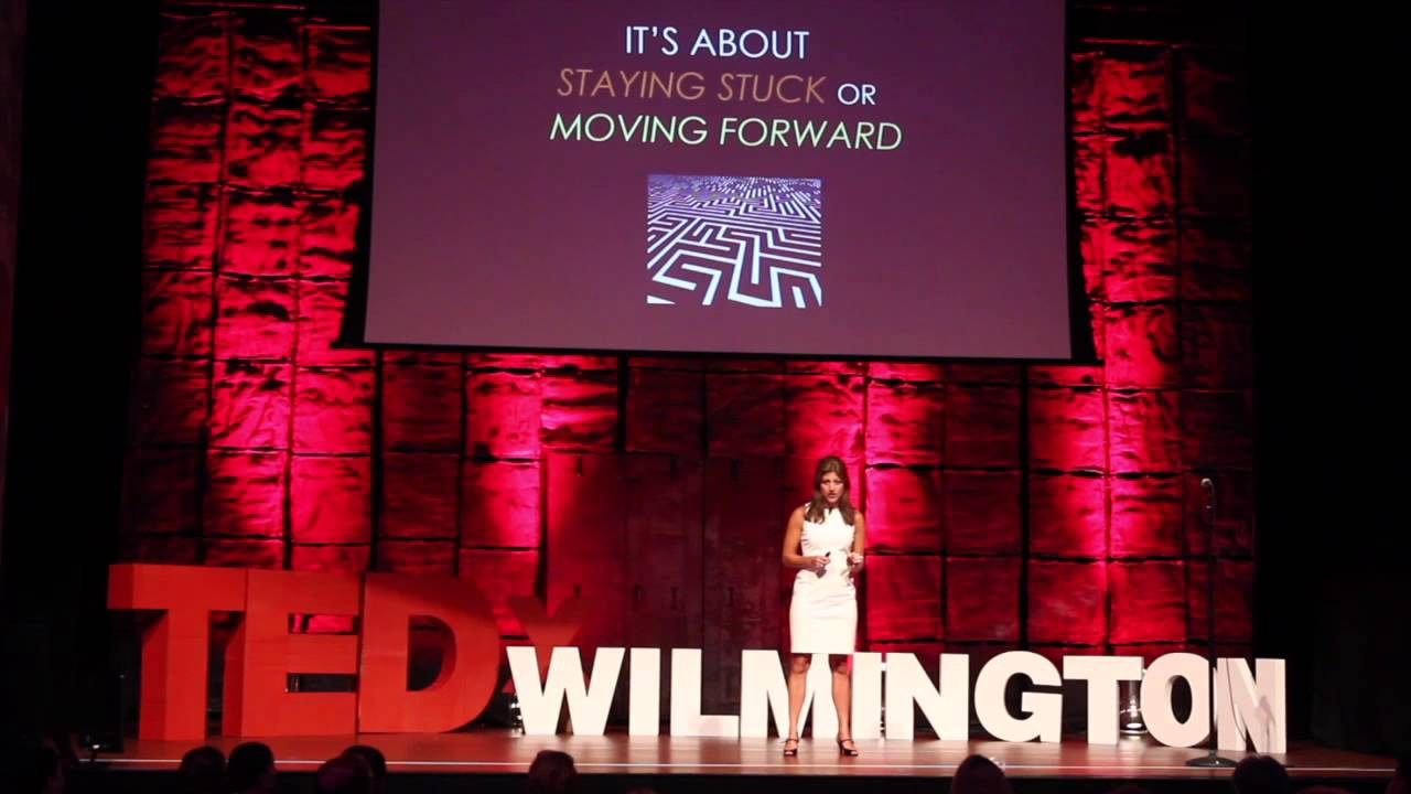 Staying stuck or moving forward | Dr. Lani Nelson Zlupko | TEDxWilmington