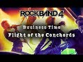 Rock Band 4 ~ Business Time by Flight of the Conchords ~ Expert ~ Full Band