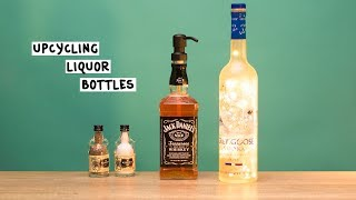 Liquor Bottle Hacks - Tipsy Bartender