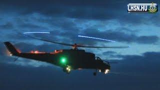 Mi-24 éjszakai Lövészet - 2019.04 - Hungary, Mi-24 Night Firing