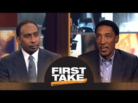 Stephen A. Smith and Scottie Pippen can't agree on Lonzo Ball's biggest issue | First Take | ESPN