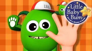 Finger Family | Part 4 | Five Little Monster | Nursery Rhymes | By LittleBabyBum!