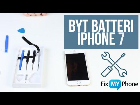 Byt Batteri Själv på iPhone 7 - Fix My Phone. Laga iPhone på 30 minuter!