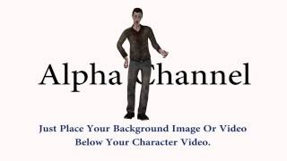 3D Zombie Character Gesture To Death Stock Footage