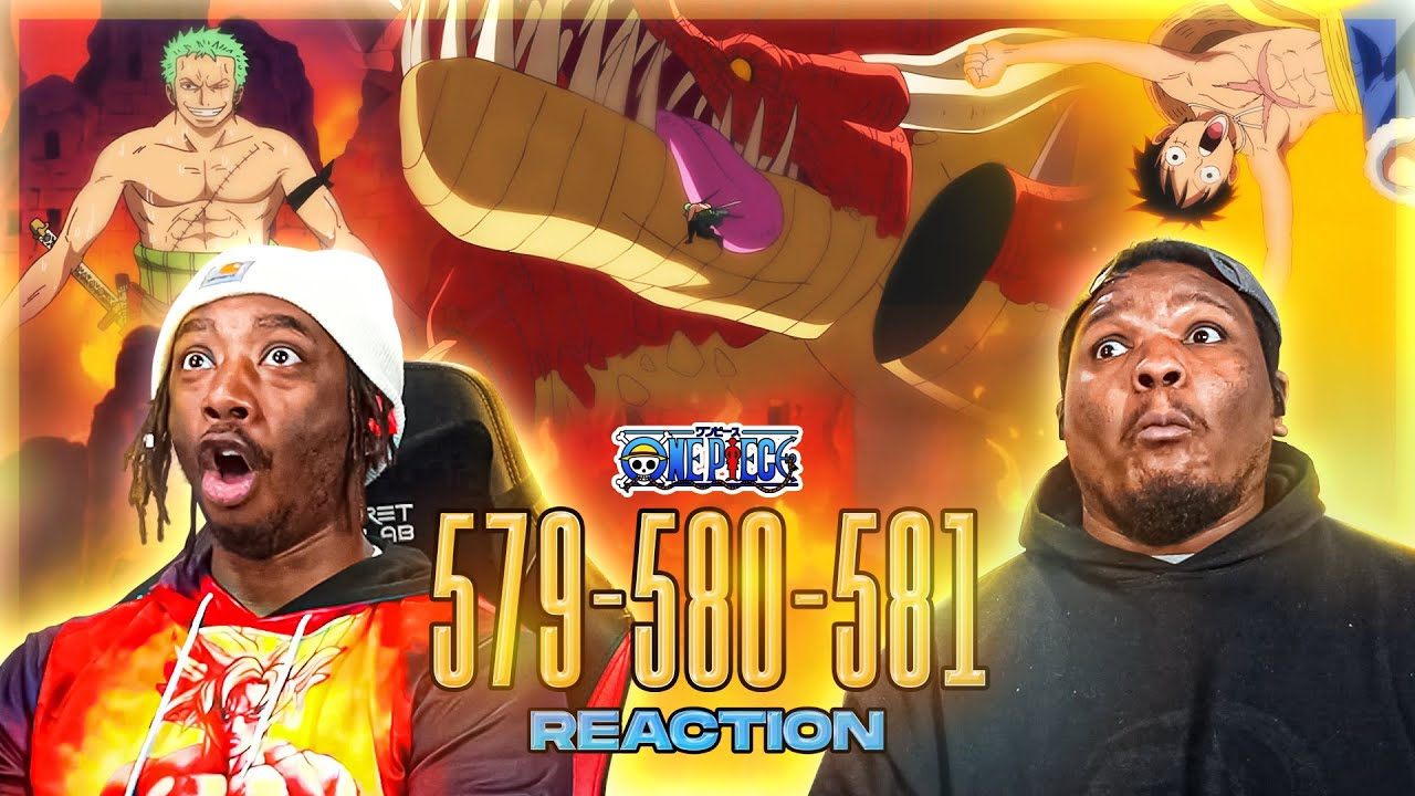 WE PULLED UP TO PUNK HAZARD!! THEY GOT A DAMN DRAGON!! OP - Episode 579, 580, 581 | Reaction
