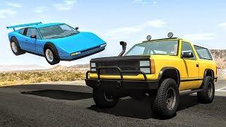 Realistic High Speed Crashes #42 - BeamNG Drive | CrashBoomPunk