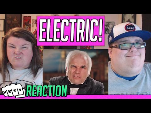 Nikola Tesla vs Thomas Edison. Epic Rap Battles of History Season 2. REACTION!! 🔥