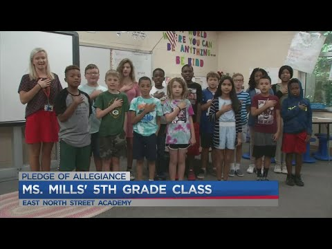 Ms. Mills' 5th grade class at East North Street Academy