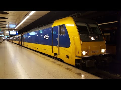 ICD(Intercity-Direct) in Amsterdam Schiphol (Airport): ICD932 Rotterdam Centraal