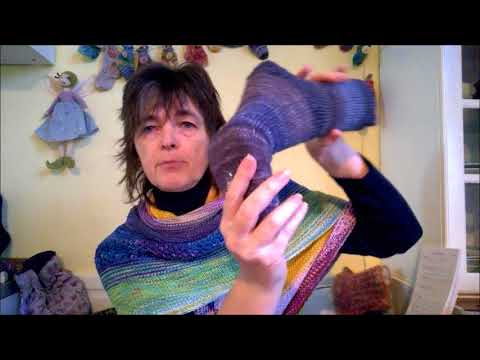 Youtube-Tutorial: Elfenwolle Episode 31 Der Tag der halben Socken