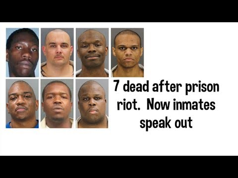 Lee County Inmates speaks out about PRISON RIOT & SCDC
