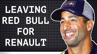 BREAKING NEWS - Daniel Ricciardo Leaving Red Bull - Confirmed for Renault