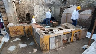 video: Pompeii archaeologists uncover ancient homophobic insult to tavern owner