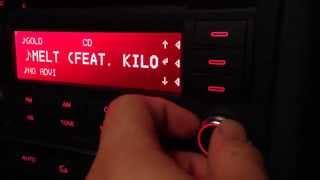 2008 audi a4 b7 2 0t audio system test night interior view