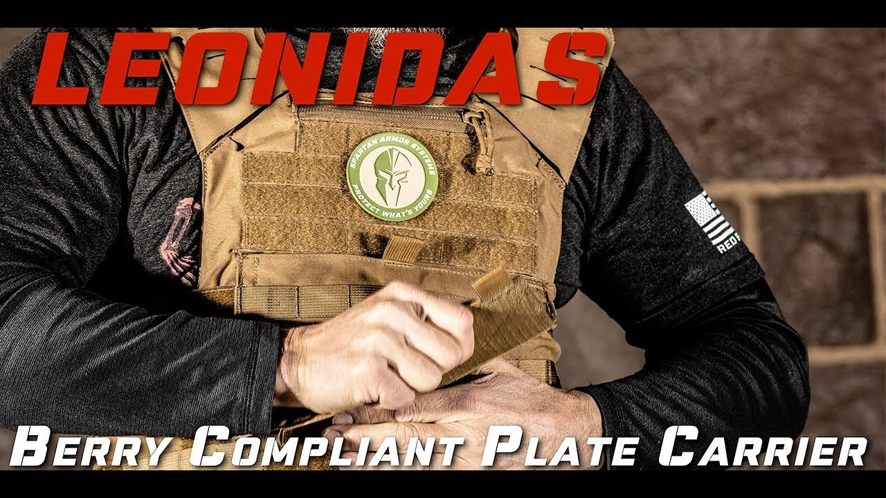 Product Overview: Leonidas Body Armor Plate Carrier by Spartan Armor Systems
