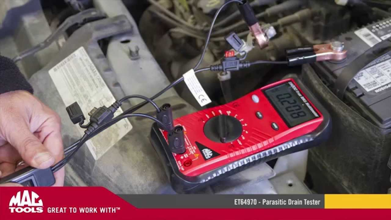 Et64970 Parasitic Drain Tester Mac Tools Youtube By Lisle Automotive Continuity Computer Safe Circuit