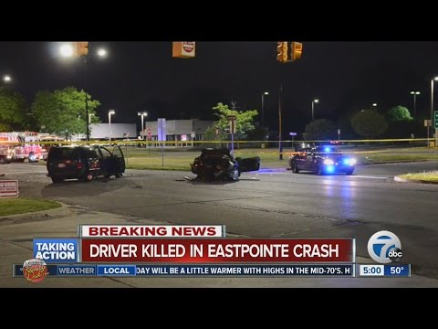 Driver killed in Eastpointe crash