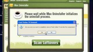 How to uninstall FreeZ Online TV with Max Uninstaller.mp4