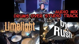 Limelight   drum cover   drums over studio track   Rush