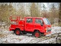 FOR SALE: 1992 TOYOTA Hiace 4wd Double Cab Fire Captain's Truck by VANLIFE NORTHWEST
