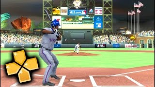 MLB 11 : The Show PPSSPP Gameplay Full HD / 60FPS